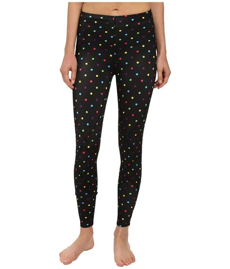 Polka Legging Printed Compression Tight cw x stabilyx tights print black polka dot zappos free shipping both ways