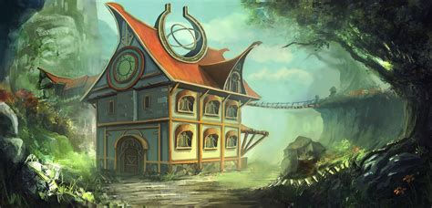 fantasy houses a fantasy house by mrainbowwj on deviantart