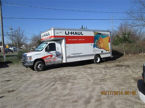 uhaul at home u haul moving truck atamu home