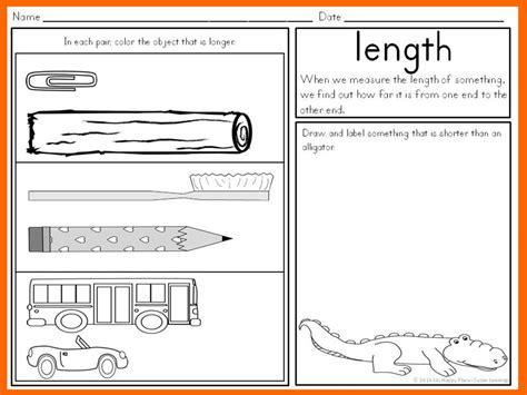kindergarten activities measurement measurement activities kindergarten math anchor charts