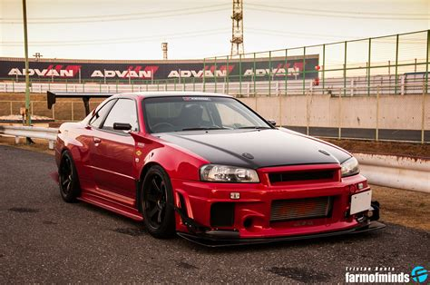nissan skyline r34 modified wallpaper attkd r34 nissan skyline gt r farmofminds