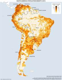 population density map of south america south america s population clinging to the coasts