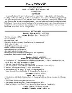 correction officer resume exle nyc dept of correction