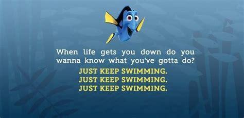 life      swimming nemo quotes