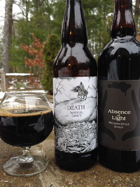 absence of light beer two very different stouts idle hands absence of light and