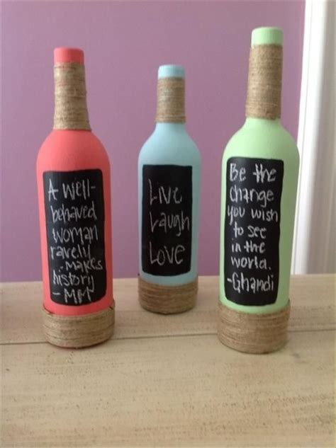 Diy Christmas Home Decor wine bottle crafts the yes girls