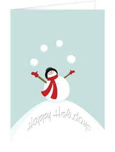 frosty snowman holiday greeting card china wholesale