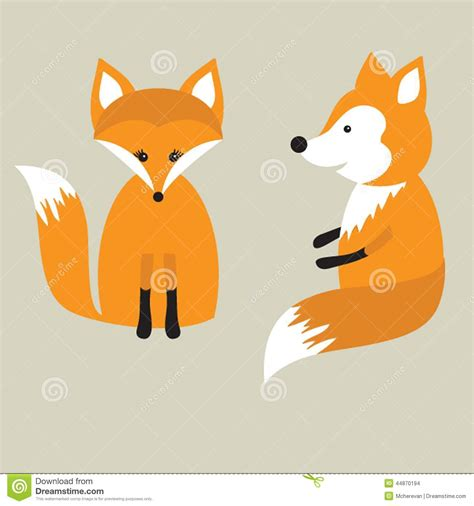 how to create a retro fox illustration in adobe illustrator vector retro card with two cute foxes in love fox couple
