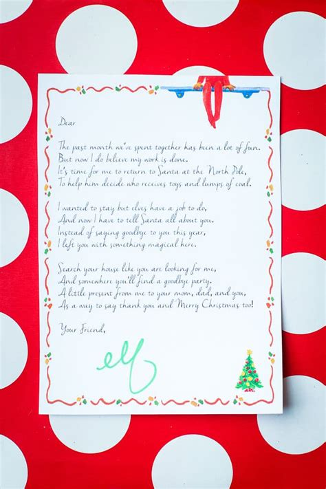 cute letter shelf elf on the shelf ideas for saying goodbye play party plan