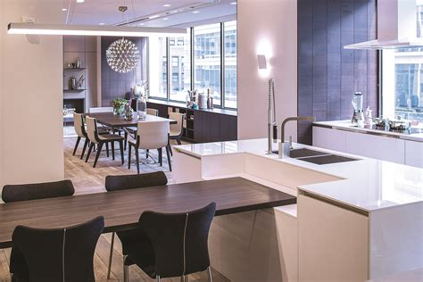 kitchen showrooms island siematic new york redefines the kitchen showroom