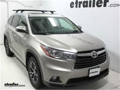 Toyota Highlander Roof Rack Installation Rhino Rack Rlcp Leg Kit For Oem Fixed Mounting Points