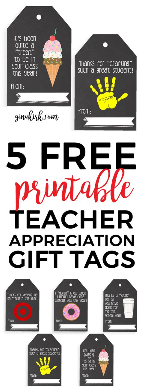 printable gift tags for teachers printable teacher appreciation tags is she really