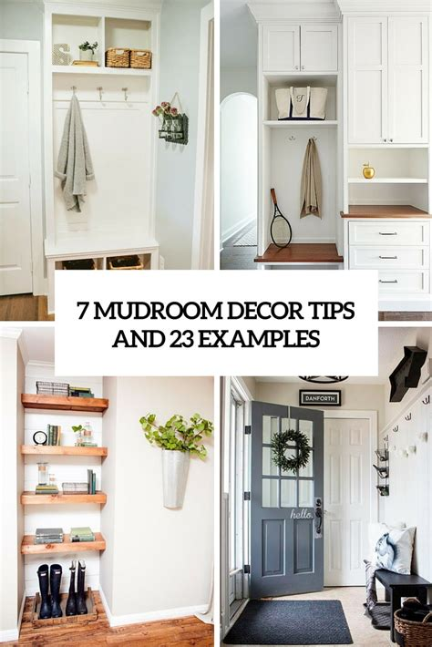 decor tips 7 small mudroom d 233 cor tips and 23 ideas to implement them