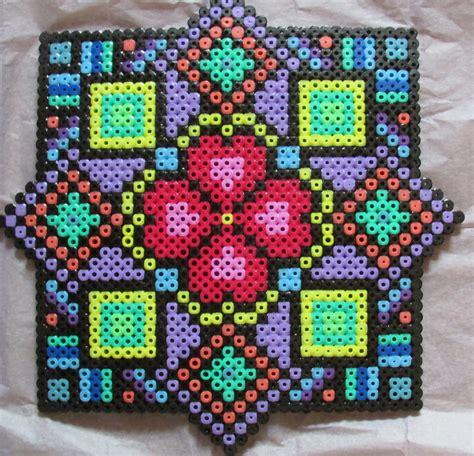 cool melty bead designs aztec hama perler bead by keely jade perler