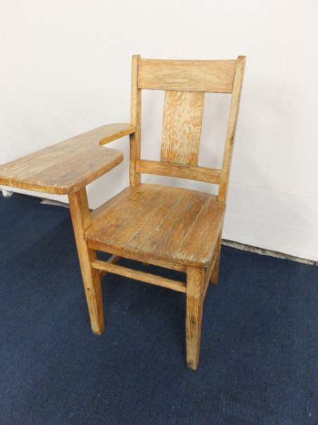 vintage student desk lot detail vintage oak quot student desk quot chair