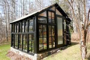 House Made Of Doors Greenhouse Made From Windows Cabinorganic