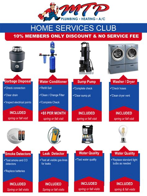 home service club 28 images maintenance programs yost