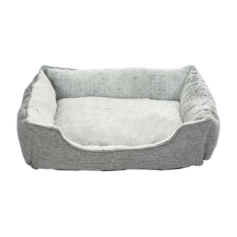gray dog bed grey dog bed creative pet group cw103 pet beds cing world
