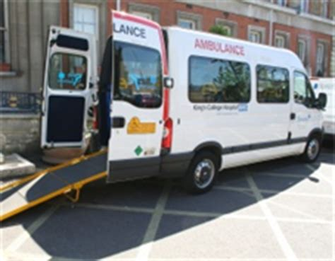 patient transport king s college hospital nhs foundation