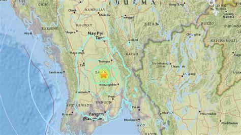 earthquake yangon quakes rattle myanmar s yangon no damage seen