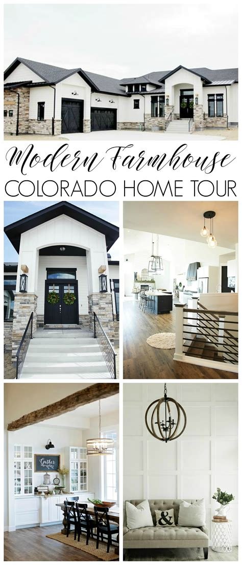 colorado home with modern amenities and farmhouse flair modern farmhouse home tour with household no 6
