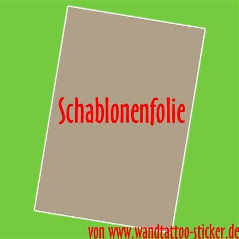 Wandtattoo Kinderzimmer Selber Machen by 5x Schablonenfolie Zum Wandtattoo Selber Machen Din A4