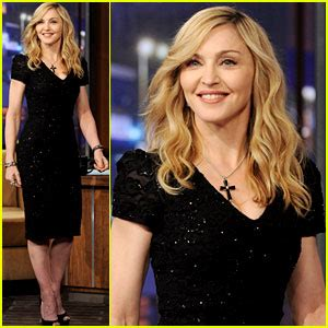 Madonna I Underpants Tonight On The Late Show With David Letterman Mound by 2012 Just Jared Page 2104