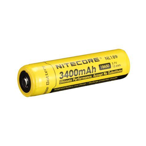 Varicore 18650 Rechargeable Li Ion Battery 3400mah 3 7v Button Top nitecore nl189 18650 li ion battery 3400mah 3 7v cursonline 174