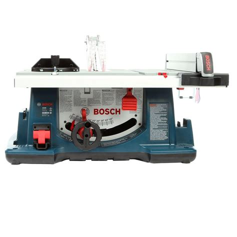 bosch 15 10 in table saw bosch 15 corded 10 in table saw kit with 40 tooth