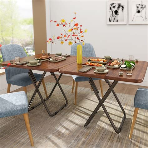 fashion dining tables folding table restaurant home eating
