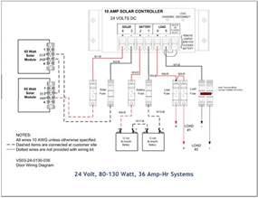 list of solar system wiring installation circuit diagram 12v and 24v