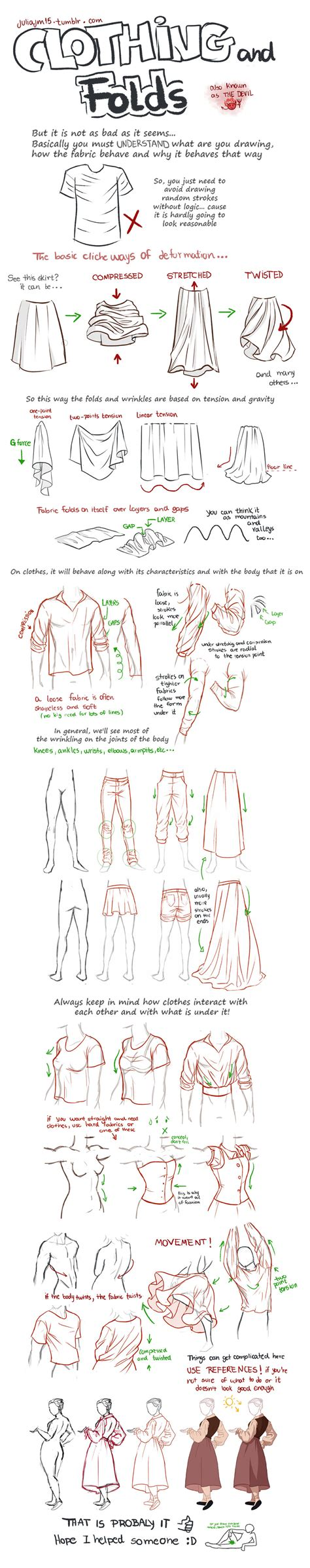 design clothes tutorial clothing and folds tutorial by juliajm15 on deviantart