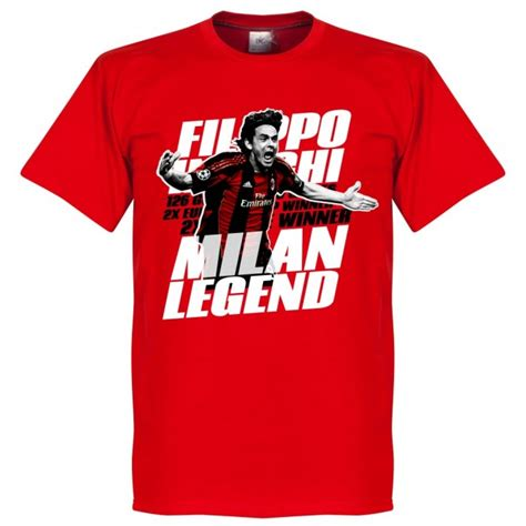 inzaghi legend t shirt rot