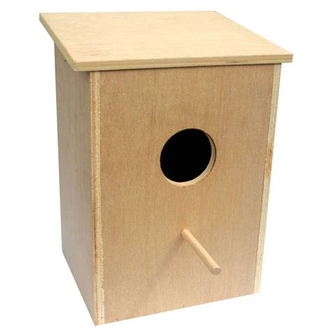 sharples n grant wooden cockateil nest box 31cm bird