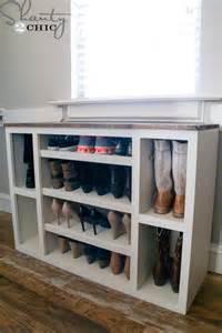 Diy Storage Cabinet Diy Shoe Storage Cabinet Shanty 2 Chic