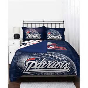 Nfl Bedding Sets Nfl Patriots Bedding Set Walmart