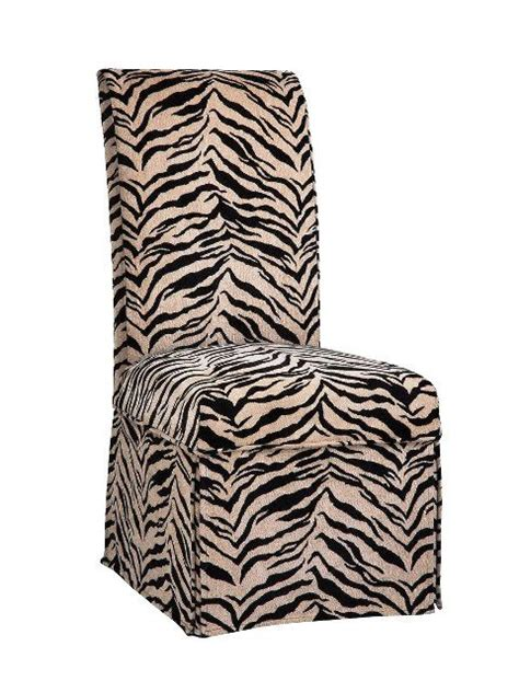 Zebra Dining Chair Covers Parsons Chair W Zebra Parsons Chair Pinterest Chairs Parsons Chairs And Chair Slipcovers