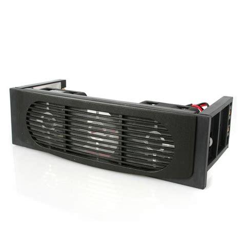 5 25 drive bay fan mount 5 25 front bay mount dual fan hdd cooler drive