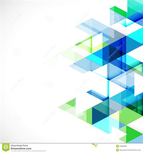 imagenes abstractas para power point abstract triangle modern template for business or