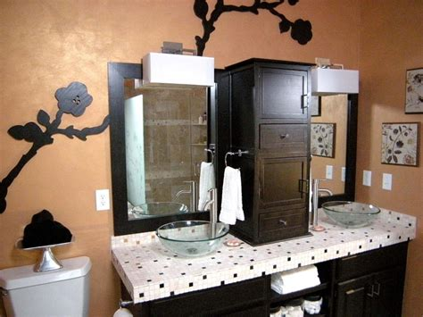 modular bathroom cabinets hgtv