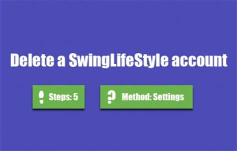 swing lifestyle log in remove accounts starting with s