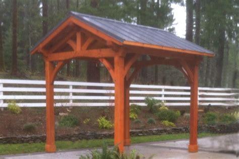 outdoor living pavilion kit backyard