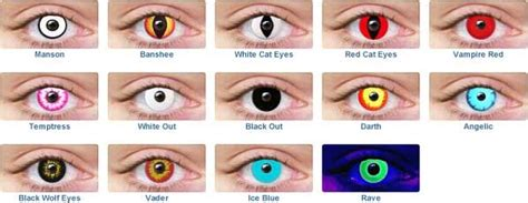 where can i find colored contacts costumes contact lenses tips and