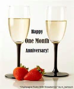happy one month anniversary free milestones ecards greeting cards 123 greetings