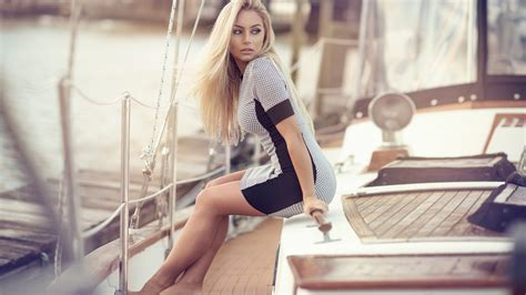 girls on boats girl on the boat hd girls 4k wallpapers images