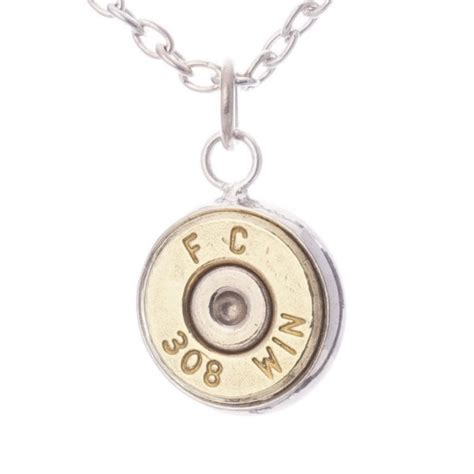 Bullet Pendant Necklace lucky 308 bullet pendant necklace hill cutlery