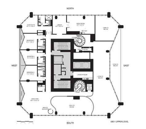 floor plan of museum one thousand museum floor plans full floor penthouses