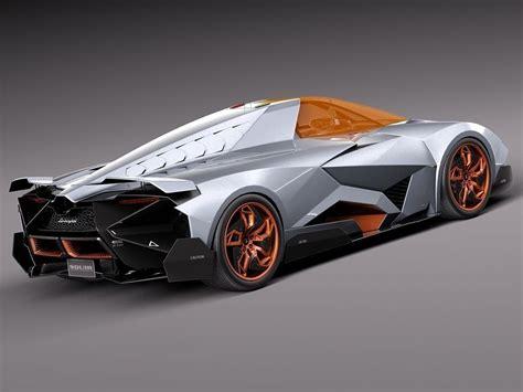 lamborghini egoista lamborghini egoista concept 2013 3d model max obj 3ds