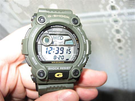casio g shock g 7900 3dr green