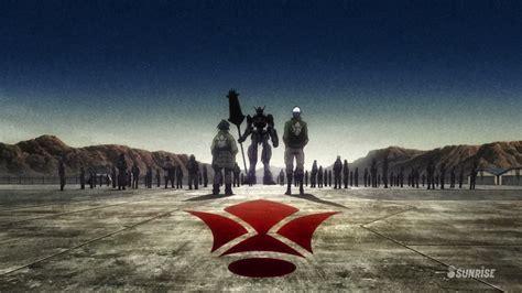 Kaos Anime Gundam Iron Blood Orphan Tekkadan Logo Raise Your Flag The Emblem Of The Iron Blooded Orphan